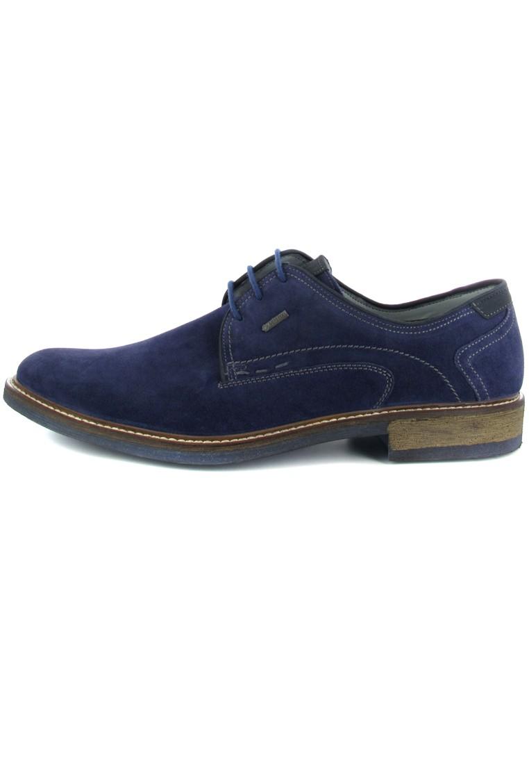 FRETZ MEN - Locarno - Herren Business Schuhe - Blau Schuhe in Übergrößen – Bild 5
