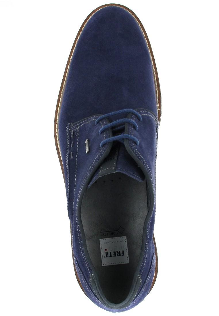 FRETZ MEN - Locarno - Herren Business Schuhe - Blau Schuhe in Übergrößen – Bild 7