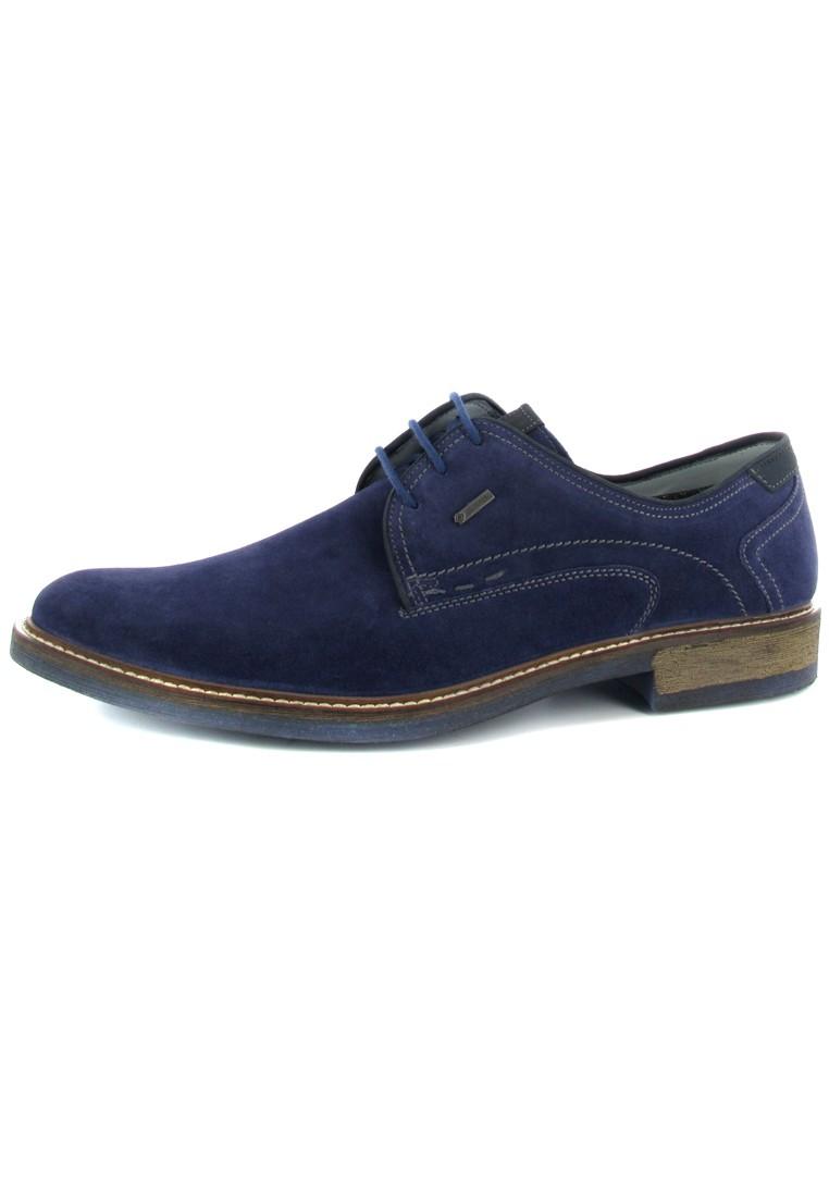 FRETZ MEN - Locarno - Herren Business Schuhe - Blau Schuhe in Übergrößen – Bild 1