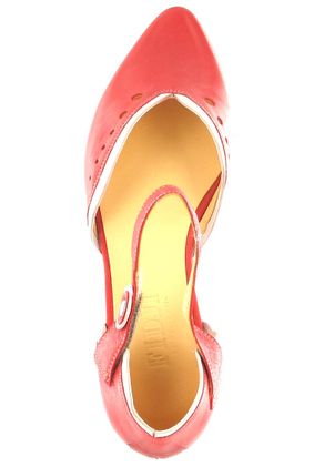 FIDJI - Damen Ballerinas - Rot Schuhe in Übergrößen – Bild 7