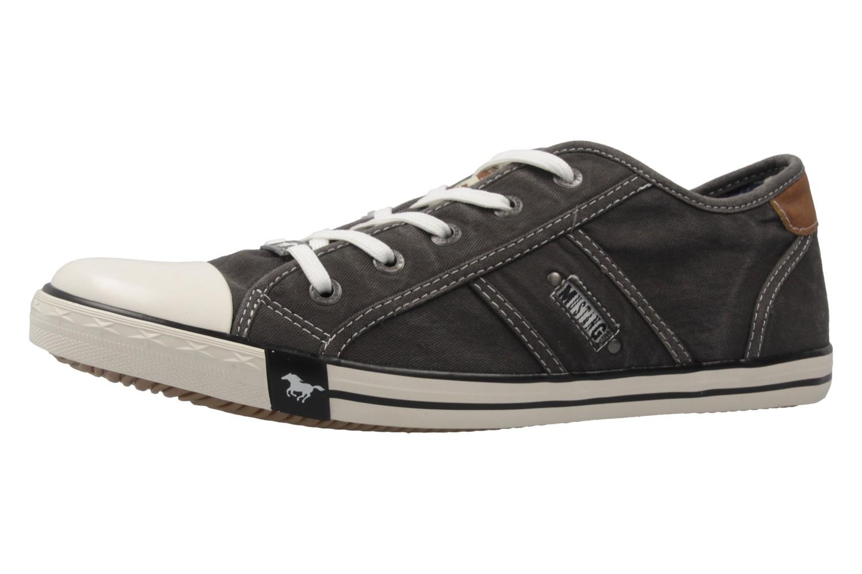 Mustang Shoes Sneaker in Übergrößen Grau 1099-302-2 große Damenschuhe – Bild 1