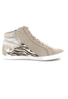 GABOR comfort - Damen High Top Sneaker - Beige Schuhe in Übergrößen – Bild 6