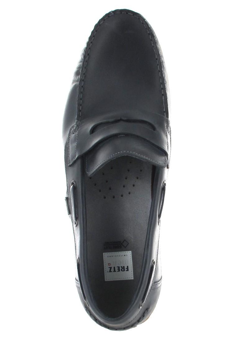 SALE - FRETZ MEN - Sorrento - Herren Slipper - Blau Schuhe in Übergrößen – Bild 7