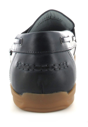 SALE - FRETZ MEN - Sorrento - Herren Slipper - Blau Schuhe in Übergrößen – Bild 2