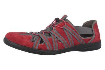 ROMIKA - Traveler 01 - Damen Halbschuhe - Rot Schuhe in Übergrößen