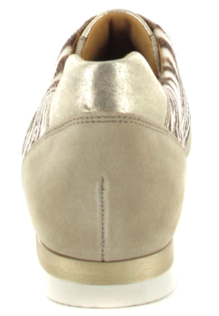 Gabor Sneaker in Übergrößen Beige 26.348.83 große Damenschuhe – Bild 2