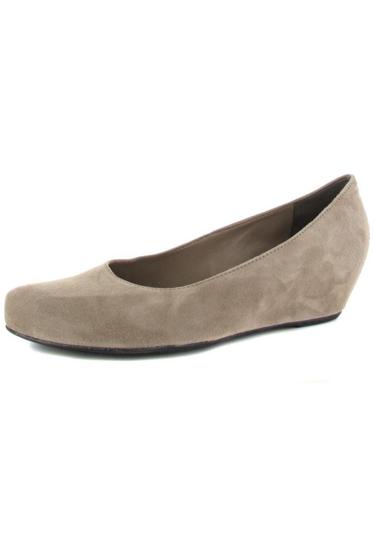 HÖGL - Damen Keil-Pumps - Beige Schuhe in Übergrößen – Bild 1