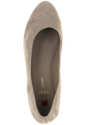 HÖGL - Damen Keil-Pumps - Beige Schuhe in Übergrößen – Bild 7