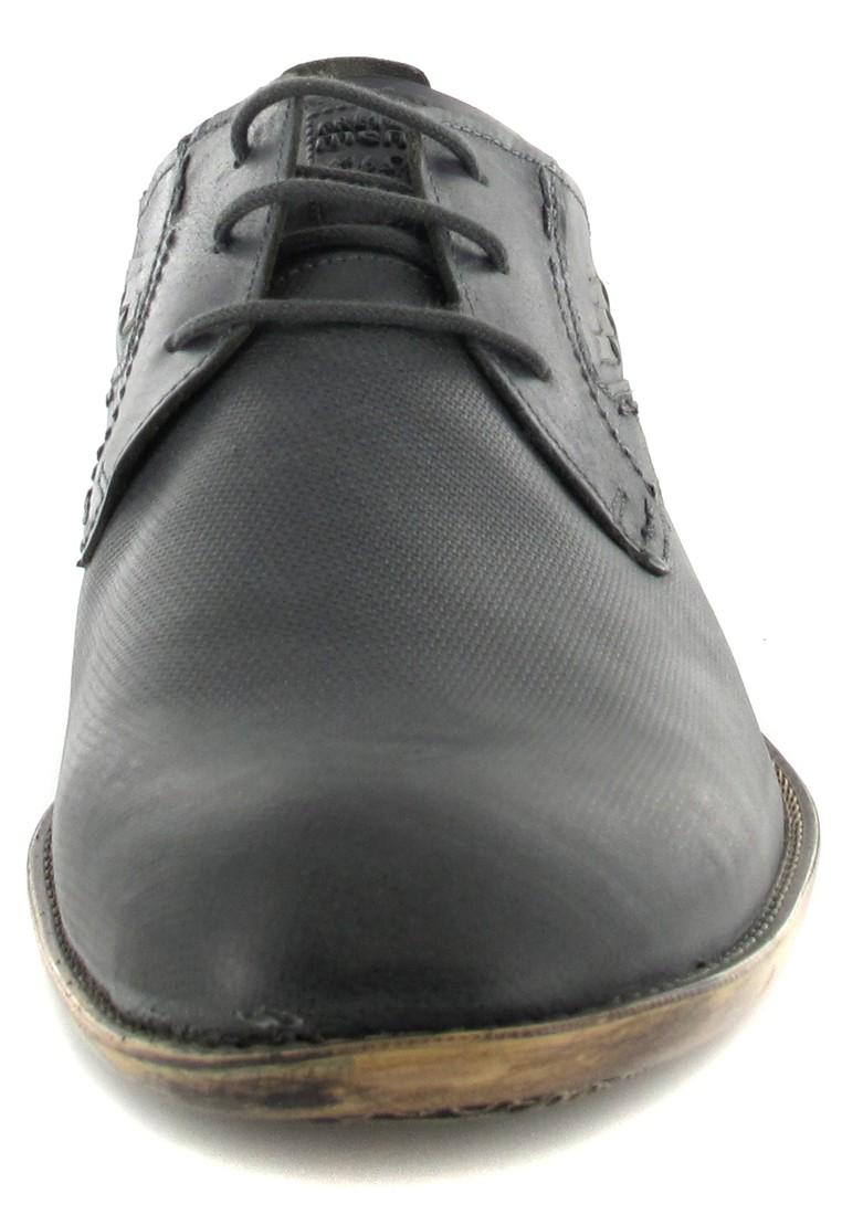 FRETZ MEN - Tosco - Herren Business Schuhe - Grau Schuhe in Übergrößen – Bild 4