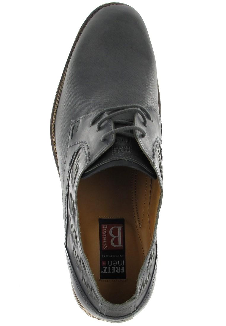 FRETZ MEN - Tosco - Herren Business Schuhe - Grau Schuhe in Übergrößen – Bild 7