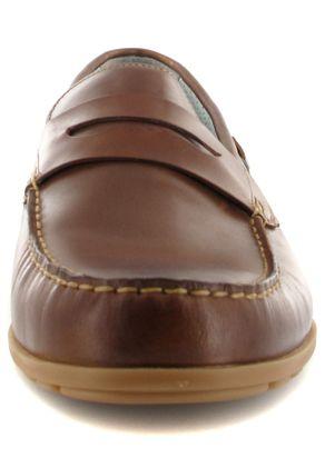 SALE - FRETZ MEN - Sorrento - Herren Slipper - Braun Schuhe in Übergrößen – Bild 4