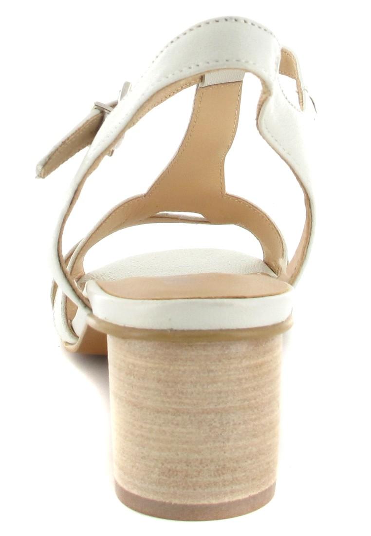 competitive price dc6a2 4d330 Fidji Sandaletten in Übergrößen Weiß P04 V028 005 große Damenschuhe
