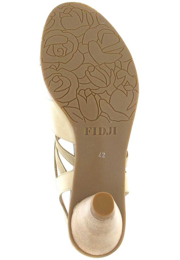 Fidji Sandaletten in Übergrößen Beige P04 V140 000 große Damenschuhe – Bild 3