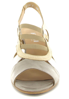Fidji Sandaletten in Übergrößen Beige P04 V140 000 große Damenschuhe – Bild 4