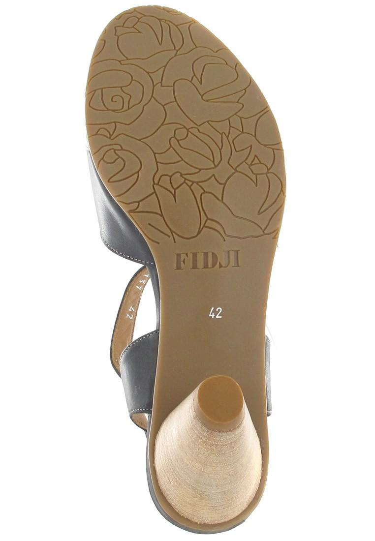 Fidji Sandaletten in Übergrößen Schwarz P04 V137 002 große Damenschuhe – Bild 3