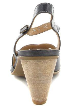 Fidji Sandaletten in Übergrößen Schwarz P04 V137 002 große Damenschuhe – Bild 2