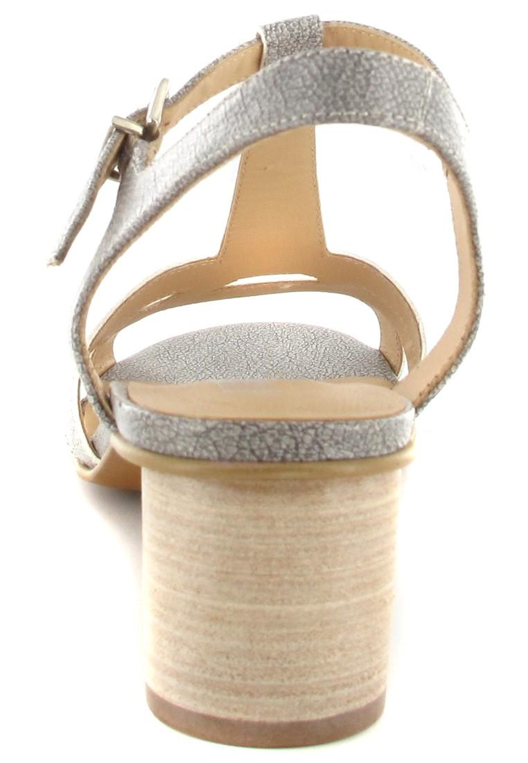 FIDJI - Damen Sandaletten - Grau Schuhe in Übergrößen – Bild 2