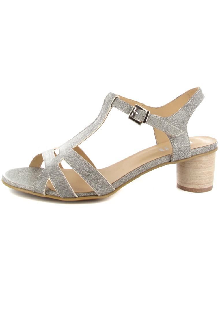 FIDJI - Damen Sandaletten - Grau Schuhe in Übergrößen – Bild 5