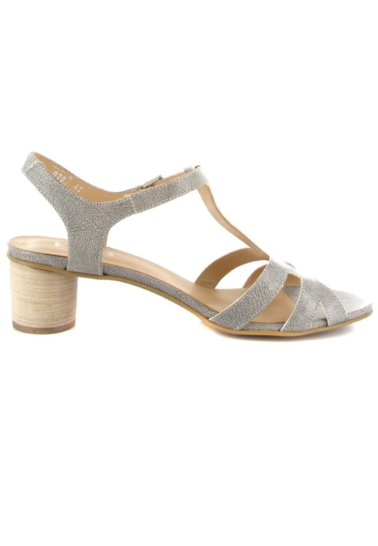 FIDJI - Damen Sandaletten - Grau Schuhe in Übergrößen – Bild 6