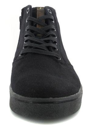 SALE - BORAS - Harlem - Herren High Top Sneaker - Schwarz Schuhe in Übergrößen – Bild 4