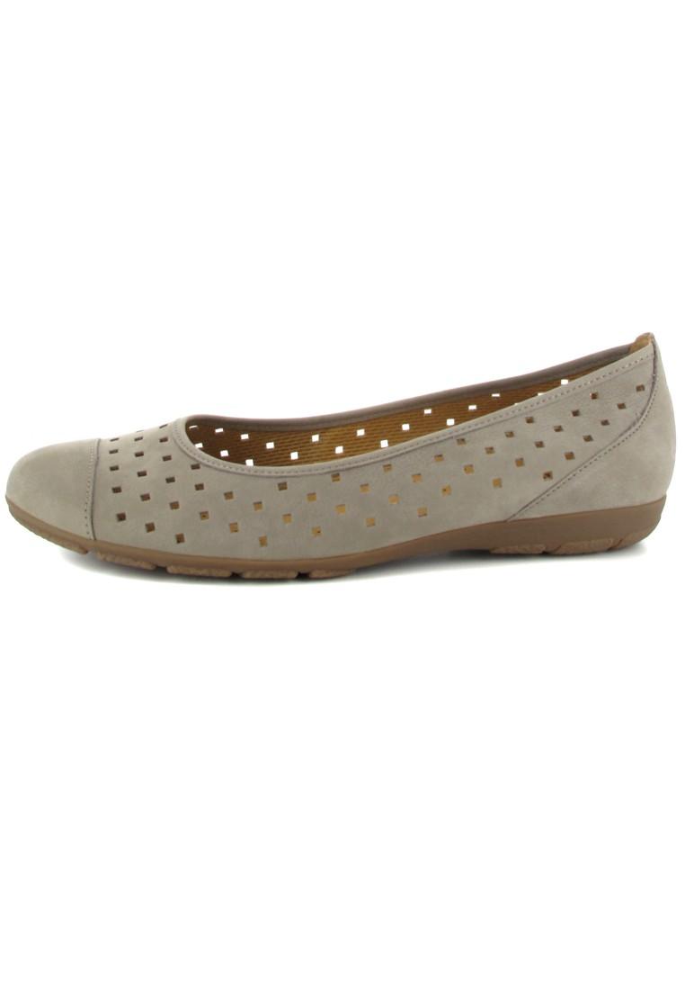 GABOR - Damen Ballerinas - Grau Schuhe in Übergrößen – Bild 5