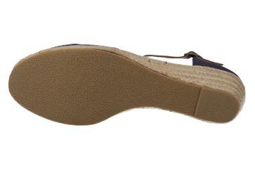 Mustang Shoes Sandaletten in Übergrößen Blau 1066-905-800 große Damenschuhe – Bild 5