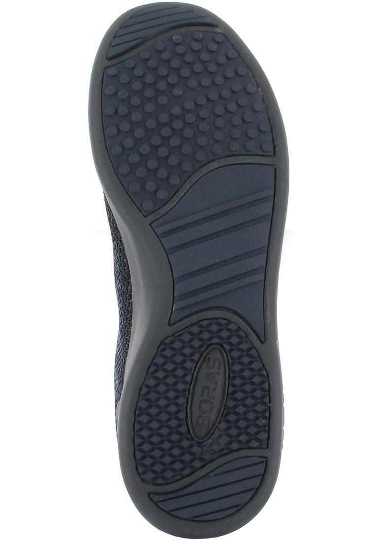 Boras Sneaker in Übergrößen Blau 3191-0721 große Herrenschuhe – Bild 3