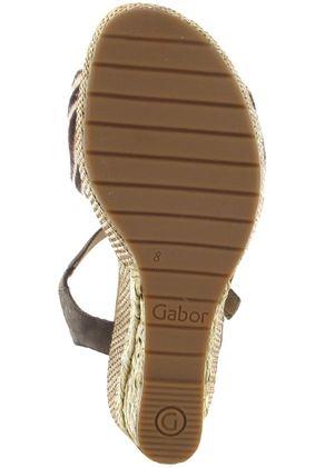 Gabor Sandaletten in Übergrößen Braun 22.824.22 große Damenschuhe – Bild 3