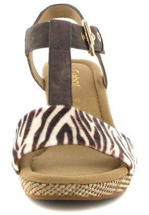 Gabor Sandaletten in Übergrößen Braun 22.824.22 große Damenschuhe – Bild 4