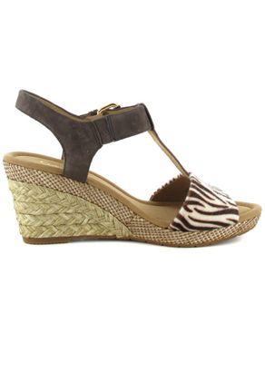 Gabor Sandaletten in Übergrößen Braun 22.824.22 große Damenschuhe – Bild 6