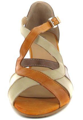 Fidji Sandaletten in Übergrößen Braun P07 V134 000 große Damenschuhe – Bild 4