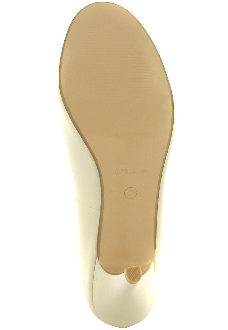 ANDRES MACHADO - Damen Pumps Brautschuhe - Beige Schuhe in Übergrößen – Bild 3