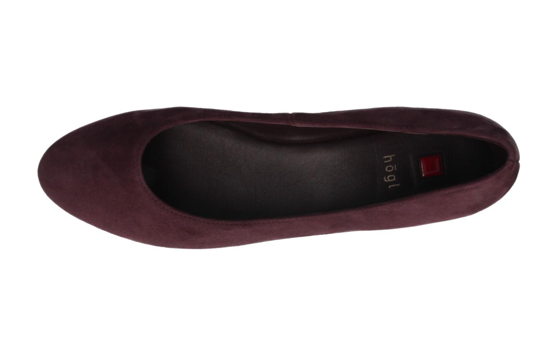 HÖGL - Damen Keil-Pumps - Lila Schuhe in Übergrößen – Bild 4