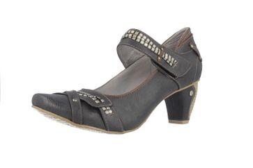 MUSTANG - Damen Spangenpumps - Grau Schuhe in Übergrößen