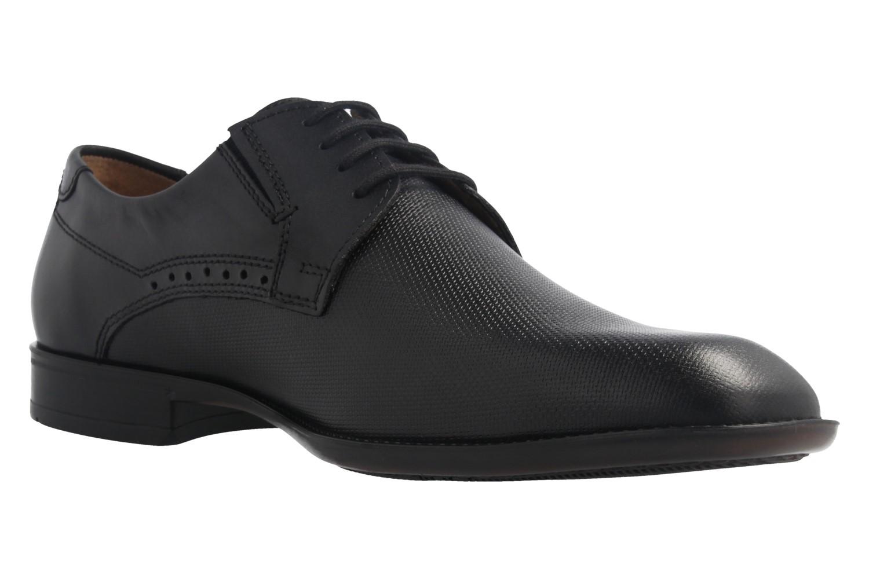 Fretz Men Business-Schuhe in Übergrößen Schwarz 9411.0662-51 große Herrenschuhe – Bild 5