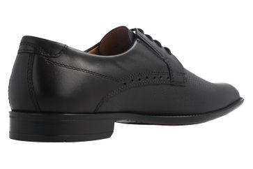 Fretz Men Business-Schuhe in Übergrößen Schwarz 9411.0662-51 große Herrenschuhe – Bild 3