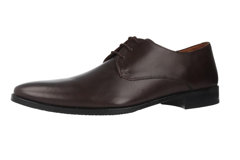 SALE - MANZ - Essex - Herren Business Schuhe - Braun Schuhe in Übergrößen – Bild 1