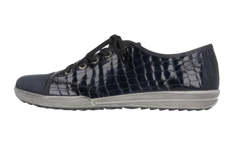 JOSEF SEIBEL - Dany 40 - Damen Halbschuhe - Lack Blau Schuhe in Übergrößen – Bild 2