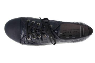 JOSEF SEIBEL - Dany 40 - Damen Halbschuhe - Lack Blau Schuhe in Übergrößen – Bild 4