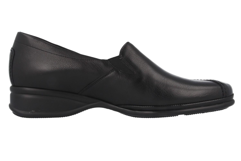 Semler Slipper in Übergrößen Schwarz R1635-118-001 große Damenschuhe – Bild 3