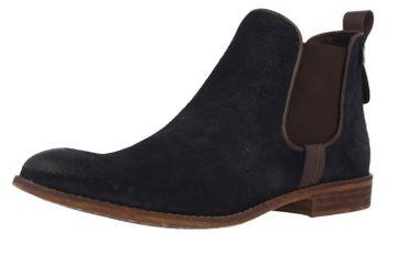 MUSTANG - Damen Chelsea Boots - Blau Schuhe in Übergrößen – Bild 1