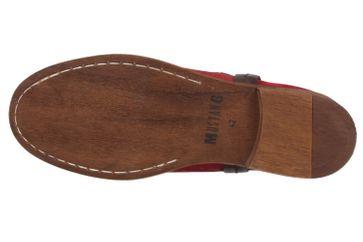MUSTANG - Damen Chelsea Boots - Rot Schuhe in Übergrößen – Bild 5
