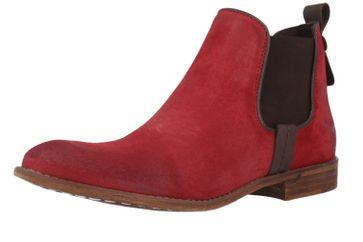 Mustang Shoes Boots in Übergrößen Rot 2830-514-5 große Damenschuhe – Bild 1