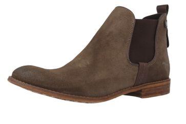 MUSTANG - Damen Chelsea Boots - Braun Schuhe in Übergrößen – Bild 1