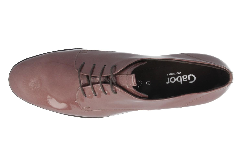 SALE - GABOR comfort - Damen Halbschuhe - Lack Violett Schuhe in Übergrößen – Bild 4