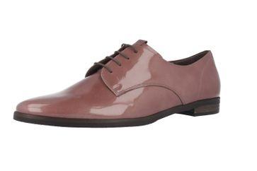 SALE - GABOR comfort - Damen Halbschuhe - Lack Violett Schuhe in Übergrößen