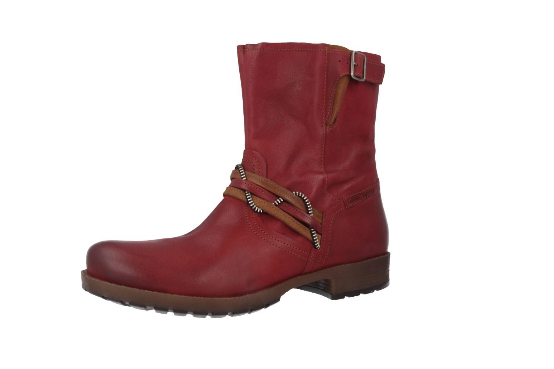Camel Active Damen Boots Rot Große Schuhe XXL Übergröße