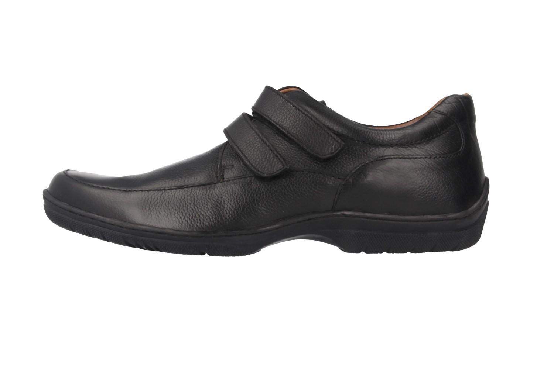 SALE - MANZ - Volt - Herren Halbschuhe - Schwarz Schuhe in Übergrößen – Bild 2