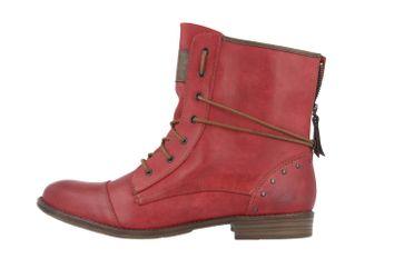 Mustang Shoes Boots in Übergrößen Rot 1157-508-5 große Damenschuhe – Bild 2