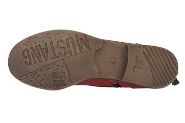 Mustang Shoes Boots in Übergrößen Rot 1157-508-5 große Damenschuhe – Bild 5
